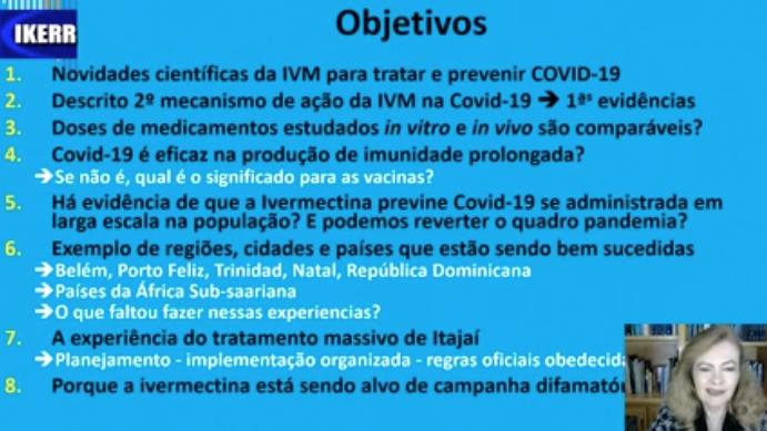 A ciência avança e a ivermectina cada dia mais comprovada para tratar Covid-19
