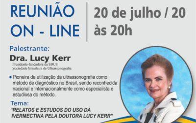 PALESTRA – RELATOS E ESTUDOS DO USO DA IVERMECTINA PELA Dra. LUCY KERR –  ROTARY CLUB DE ASSIS-NORTE